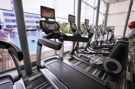 Fraser Suites Singapore: Gym
