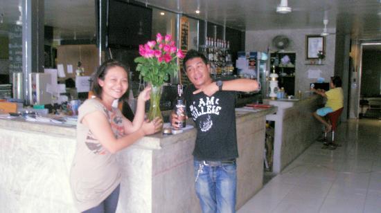 Phuket Backpacker: Reception 