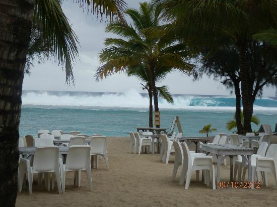Crown Beach Resort & Spa: View from Oceans