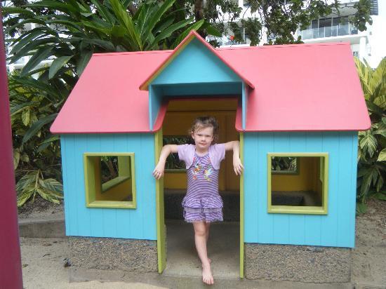Muddy's Playground: play house