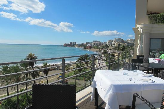 Vincci Seleccion Aleysa Hotel Boutique & Spa: View at breakfast