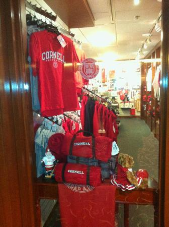 "The Statler Hotel at Cornell University: Forgot to mention the mini ""Cornell"" store"