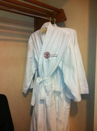 The Statler Hotel at Cornell University: Comfy Bathrobes