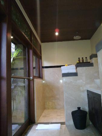 Bidadari Private Villas & Retreat: shower