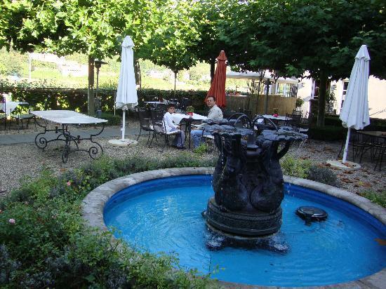 Rheinhotel Schulz : The inner garden