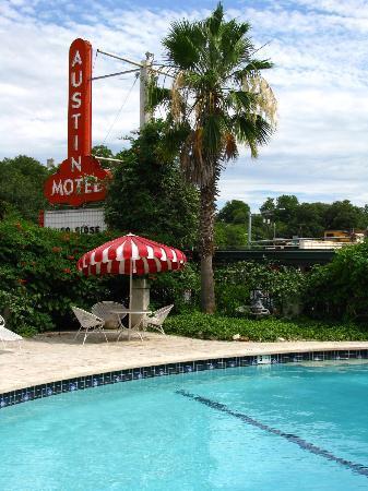 Austin Motel: Netter, kleiner Pool.