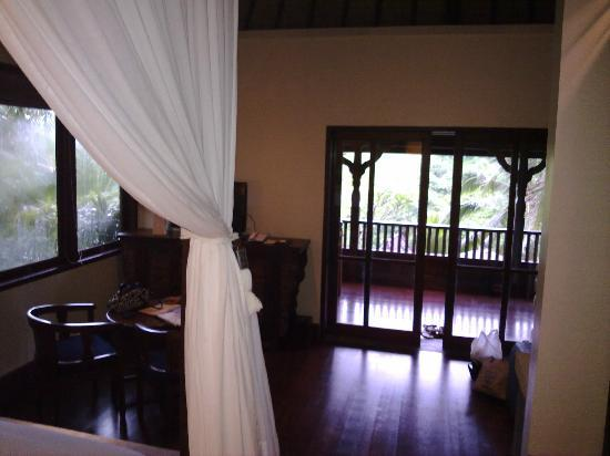 Bidadari Private Villas & Retreat: view of the room from the bed