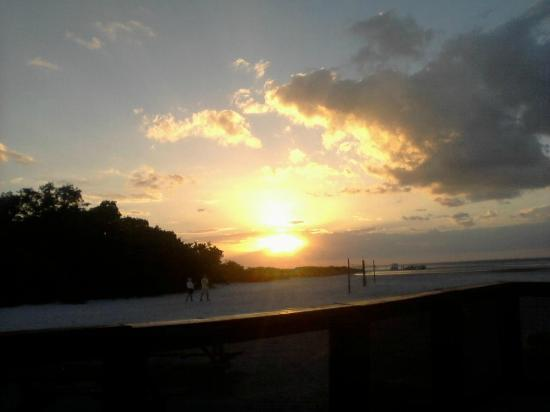 Wyndham Garden Fort Myers Beach: Having dinner on the deck at sunset ~ this is the view every single night.
