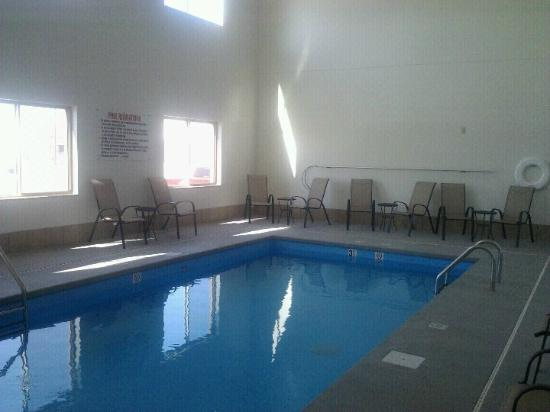 Cobblestone Hotel & Suites Fairbury, NE: Indoor Swimming Pool