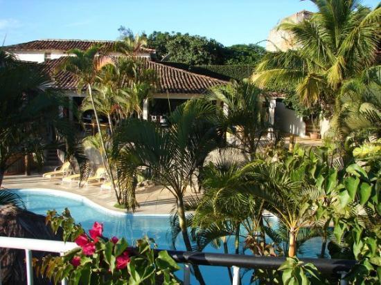 Hotel Mandragora: Vista saliendo de las habitaciones