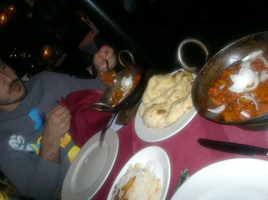 Red Chilli: Piatto di carne d'agnello e manzo