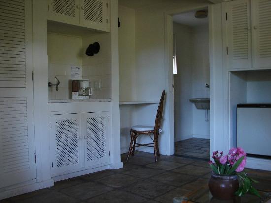 Hotel Mandragora: Lavadero y sector para cocinar