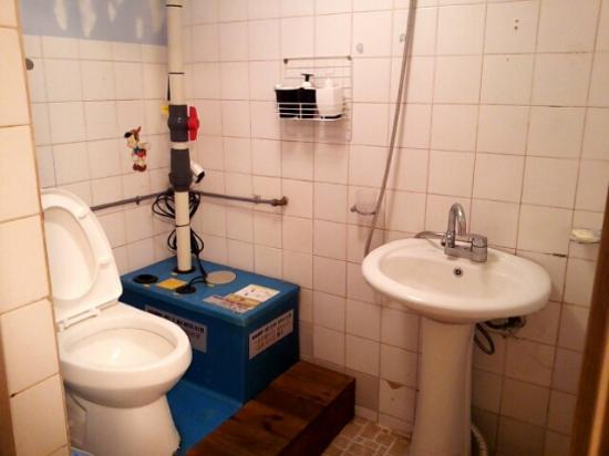 Housetay: underground bathroom