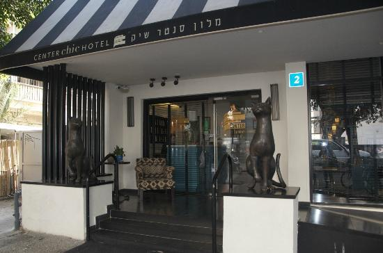 Center Chic Hotel Tel Aviv - an Atlas Boutique Hotel: Front of hotel