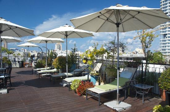 Center Chic Hotel Tel Aviv - an Atlas Boutique Hotel: Roof top