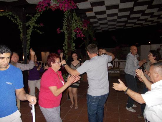 Grand Newport Hotel: Dancing one night