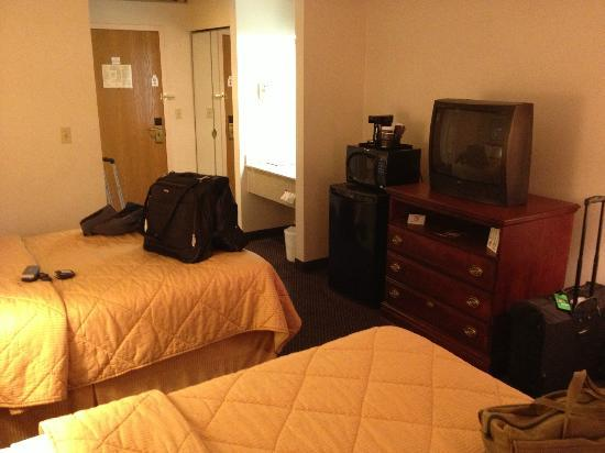 The View Inn & Suites: Pretty comfortable!