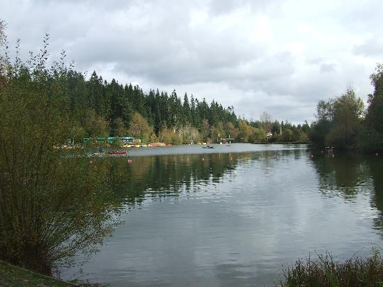 The watersports lake