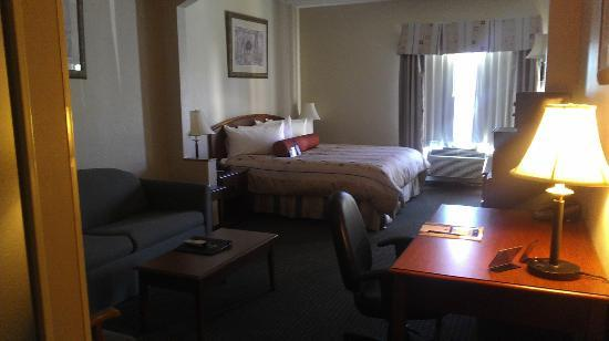Best Western Plus Suites-Greenville: our room