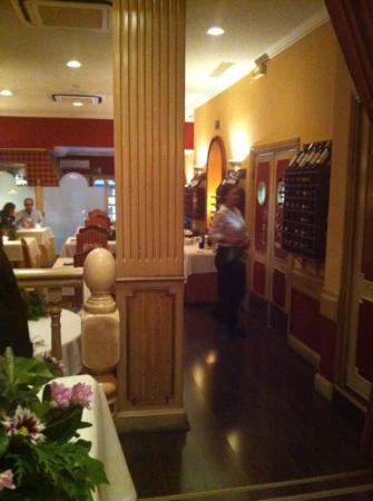 Restaurante Salterius: Interior agradable