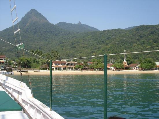 Vila do Abraao, RJ: Vista desde el Mar