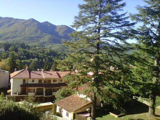 Masia del Montseny Hotel: Vistas desde la habitación