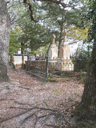Beaufort Historic Site Old Burying Ground: Graves