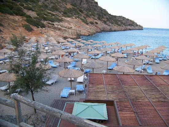 Daios Cove Luxury Resort & Villas: plage
