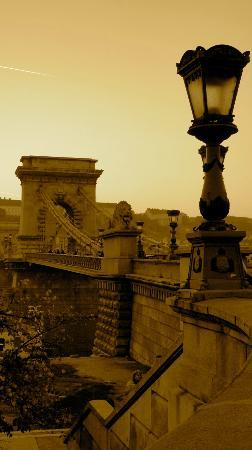 Chain Bridge (Szechenyi lanchid): Vista da ponte