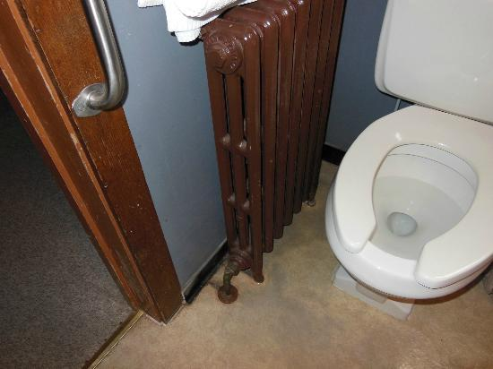 Big Meadows Lodge: Radiator