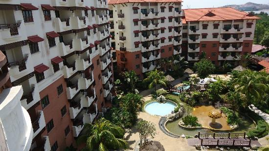Holiday Inn Resort Batam: view from our balcony