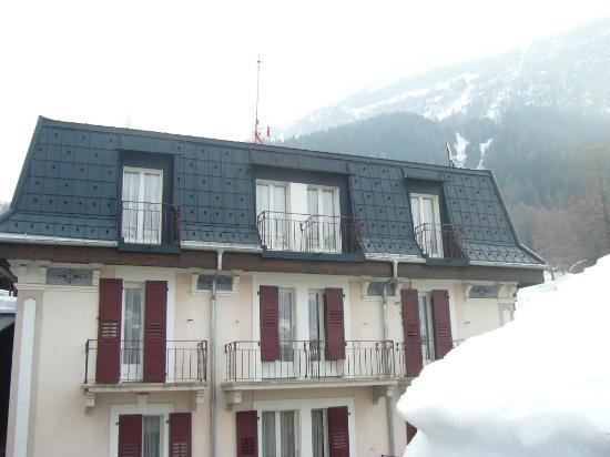 Hotel De La Croix Federale: Hotel rooftop view