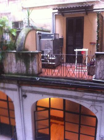 Residenza Ludovisi: View from our room