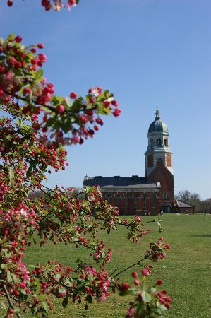 Netley, UK: Chapel in spring
