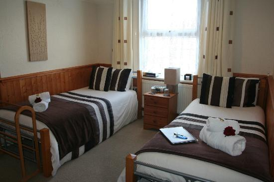 The Swiss Cottage Shanklin: Room 6 Twin First Floor