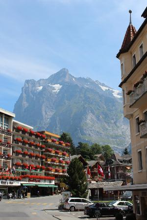 Grand Hotel Regina Grindelwald: View from Guest Room