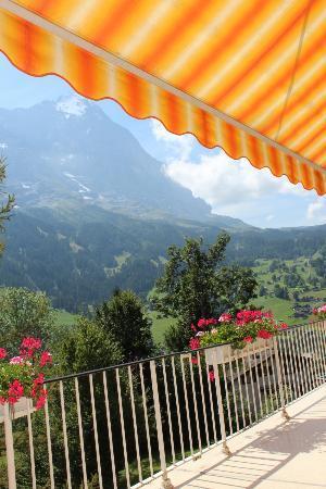 Grand Hotel Regina Grindelwald: Terrace