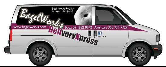 Bagelworks: new delivery van!