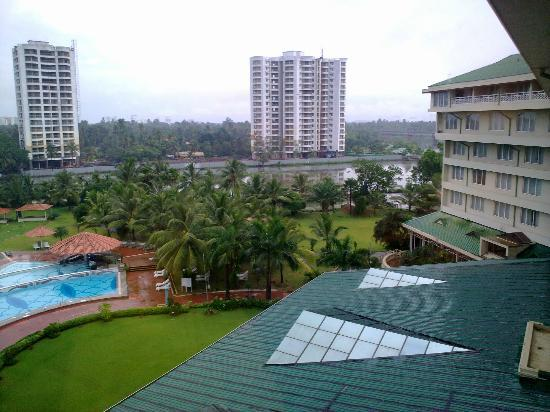 Le Meridien Kochi: view from room