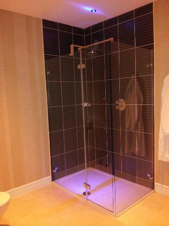 Hillgrove Hotel, Leisure & Spa : Lovely big shower