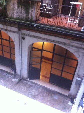 Residenza Borghese: View from the window