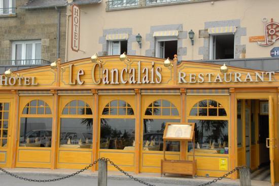 Le Cancalais : La façade