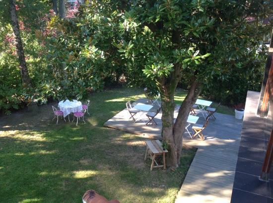 Villa Lorenea: garden