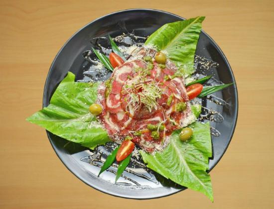 Union Street Grill: carpaccio malaysia