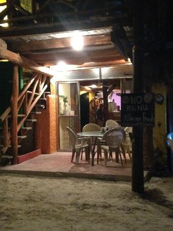 El Chapulim: Quaint,friendly atmosphere