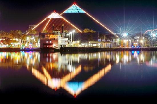 Galveston Tx Festival Of Lights At Moody Gardens