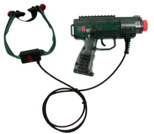 Barnyard Swing Miniature Golf: Laser Guns for Tag