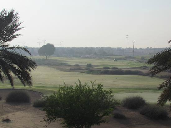 Arabian Ranches Golf Club Hotel: View from bedroom, first thing in the morning