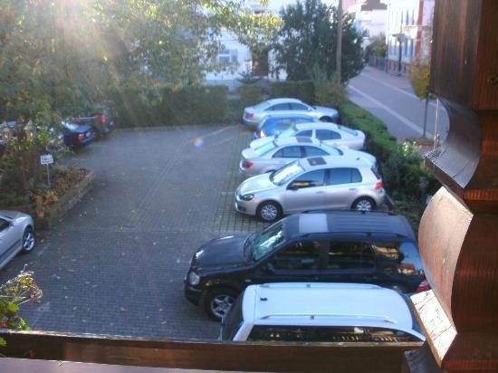 Hotel Pflug : Parkplatz