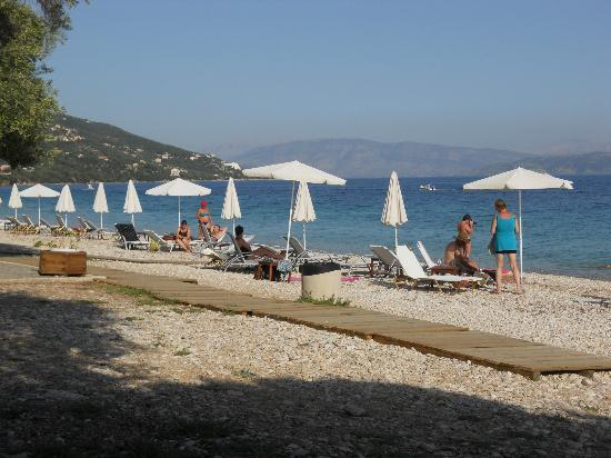 Barbati Beach Apartments: The Shea Shells Restaurant/Snack Bar- Barbati Beach Corfu